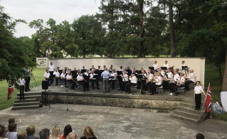 Koncert nórskeho dychového orchestra