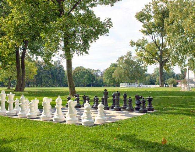 Záhradný šach