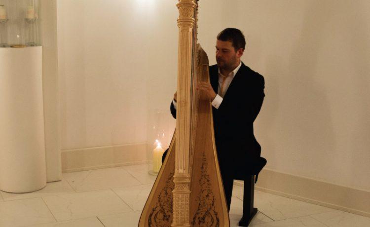 Harfový koncert v kaplnke
