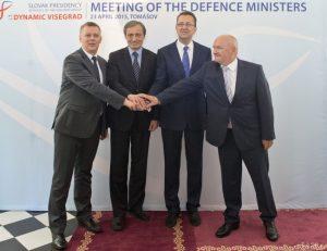 Stretnutie ministrov obrany V4