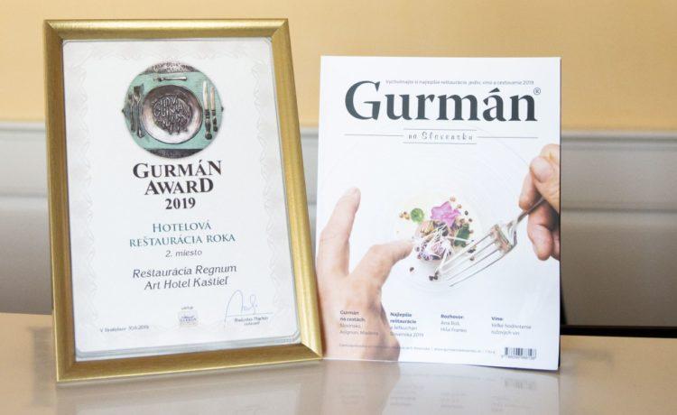 Ocenenie Gurmán Award 2019