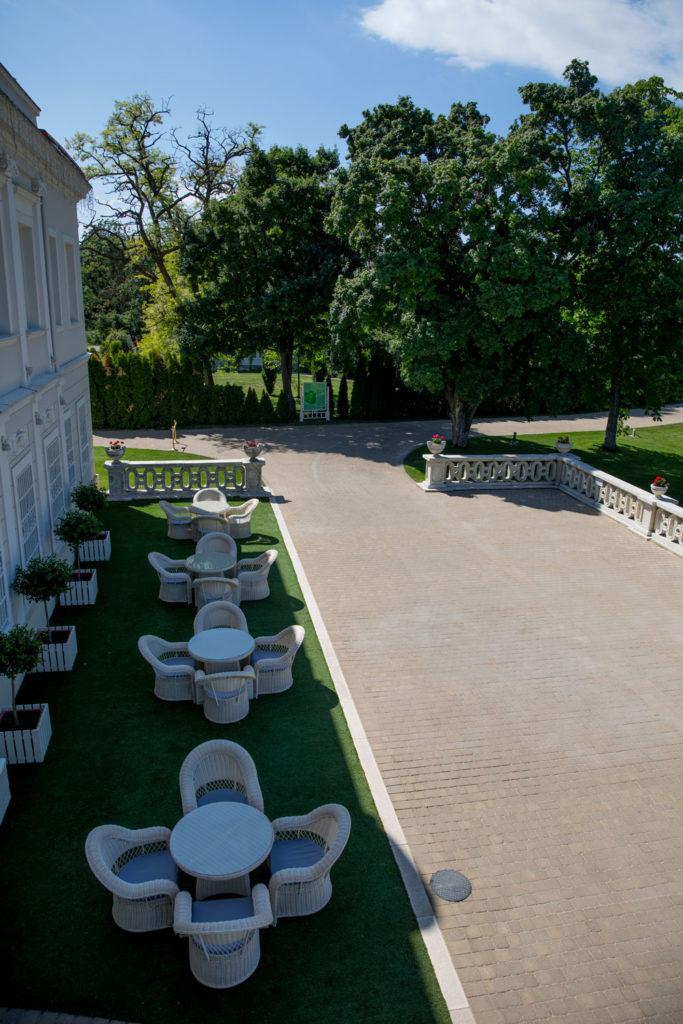 Letná terasa s rozšíreným sedením